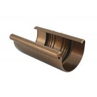 Соединитель желоба Marley (Марлей) PVC, Ø 125 мм. (медный)