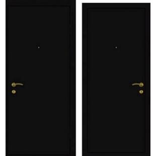 Дверь Эконом Металлический лист/Металлический лист
