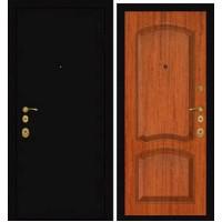 Дверь Премиум Металлический лист/104 Красное дерево