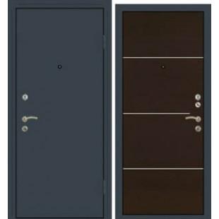 Дверь Премиум Металлический лист/1М1 Венге