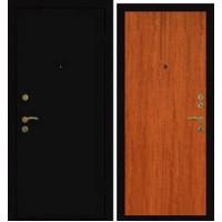 Дверь Премиум Металлический лист/1 Красное дерево