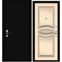 Дверь Премиум Металлический лист/130 Беленый дуб