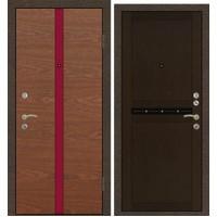 Дверь Премиум 340 Красное дерево/250ДФ Венге
