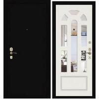 Дверь Премиум Металлический лист/122ЗП2 ПВХ Белый