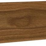Плинтус напольный с кабель-каналом Ecoline арт.127 Вяз