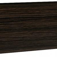 Плинтус напольный с кабель-каналом Ecoline арт.136 Венге