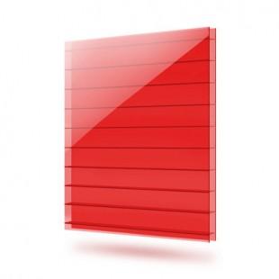 Сотовый поликарбонат - Красный