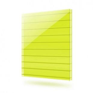 Сотовый поликарбонат - Желтый