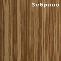 Стекломагниевый лист шпон - Зебрано