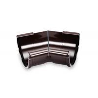 Специальный внутренний угол 91°- 179° GALECO PVC с усиленным уплотнительным элементом, Ø 124 мм. (белый/коричневый)